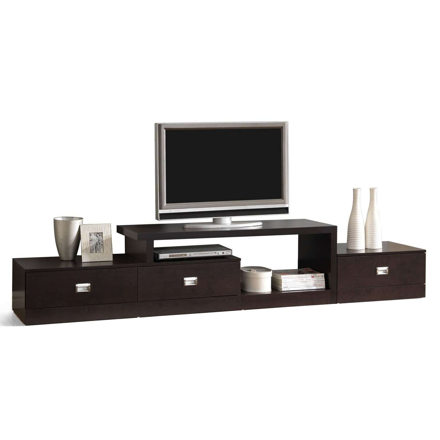 White Tv Stand 20 The Best Modern Low Tv Stands