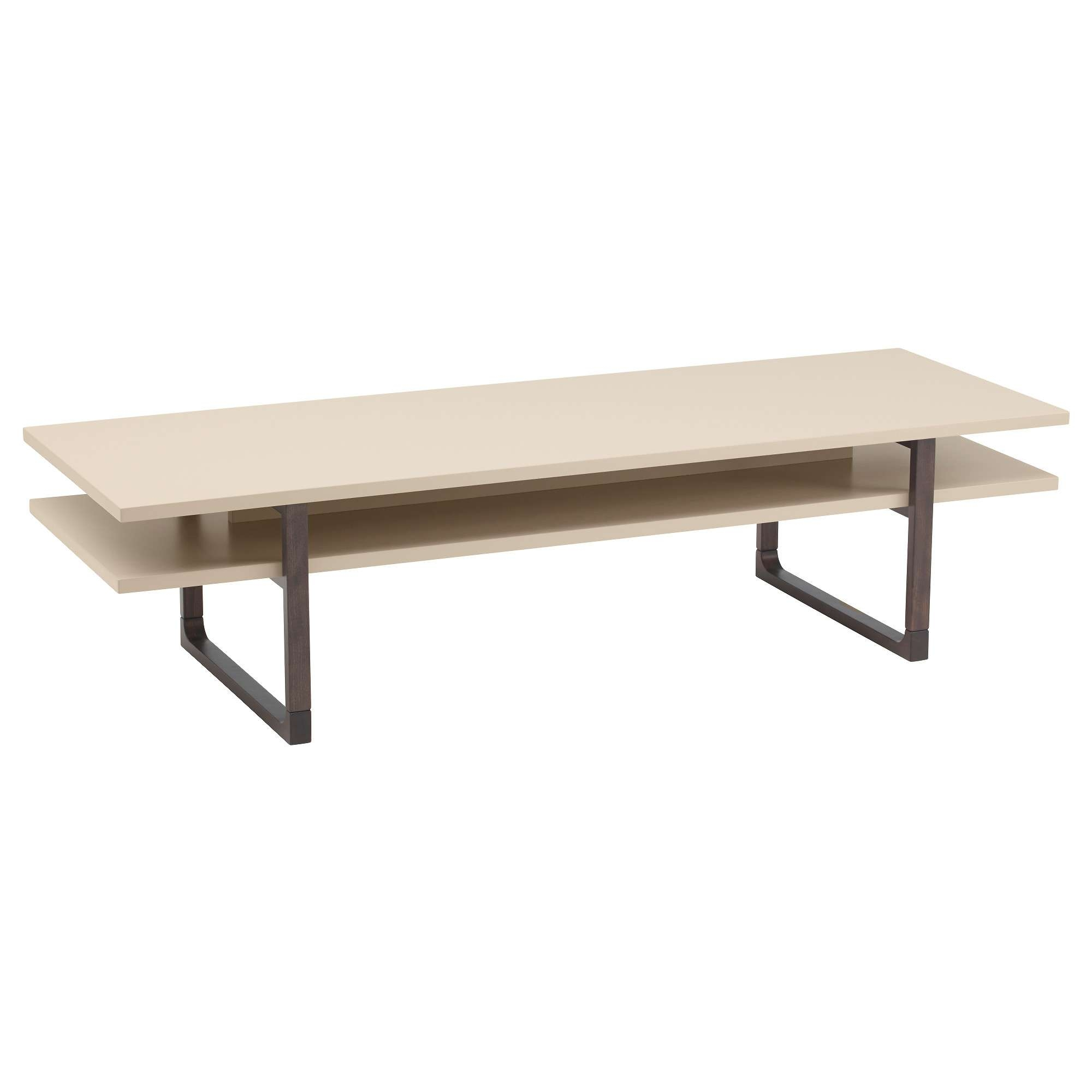 Long Slim Coffee Table 20 The Best Beige Coffee Tables