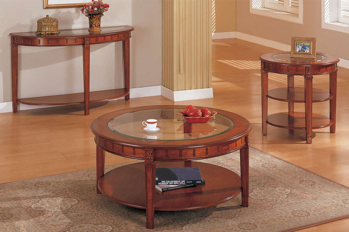 Round Oak End Tables 20 The Best Round Oak Coffee Tables