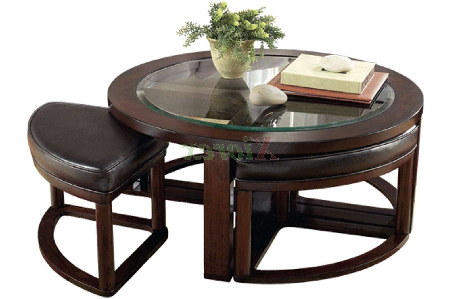 Coffee Table With Seating Underneath 20 Best Collection Of Coffee Table With Chairs