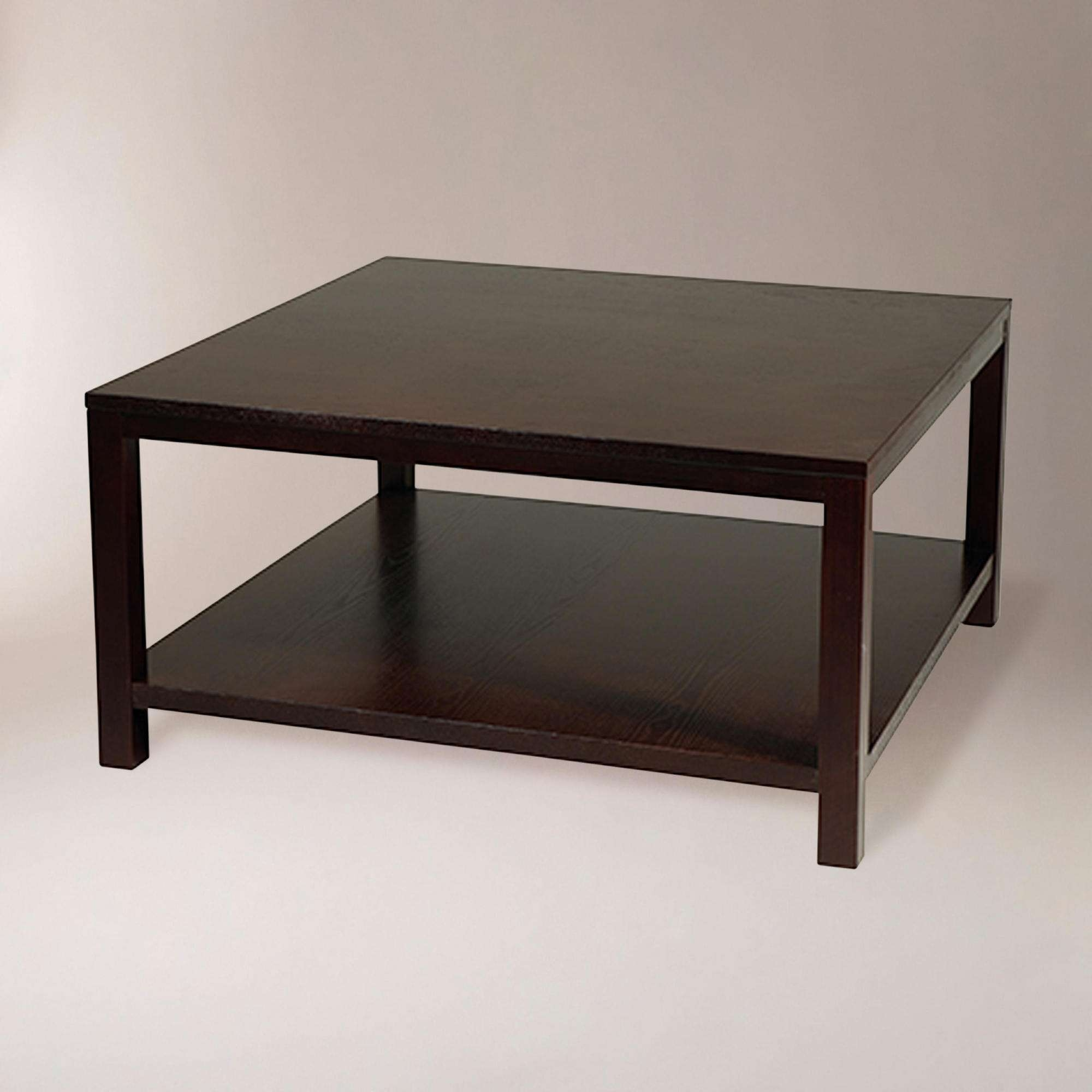 Black Coffee Table Modern 20 Best Ideas Of Square Black Coffee Tables