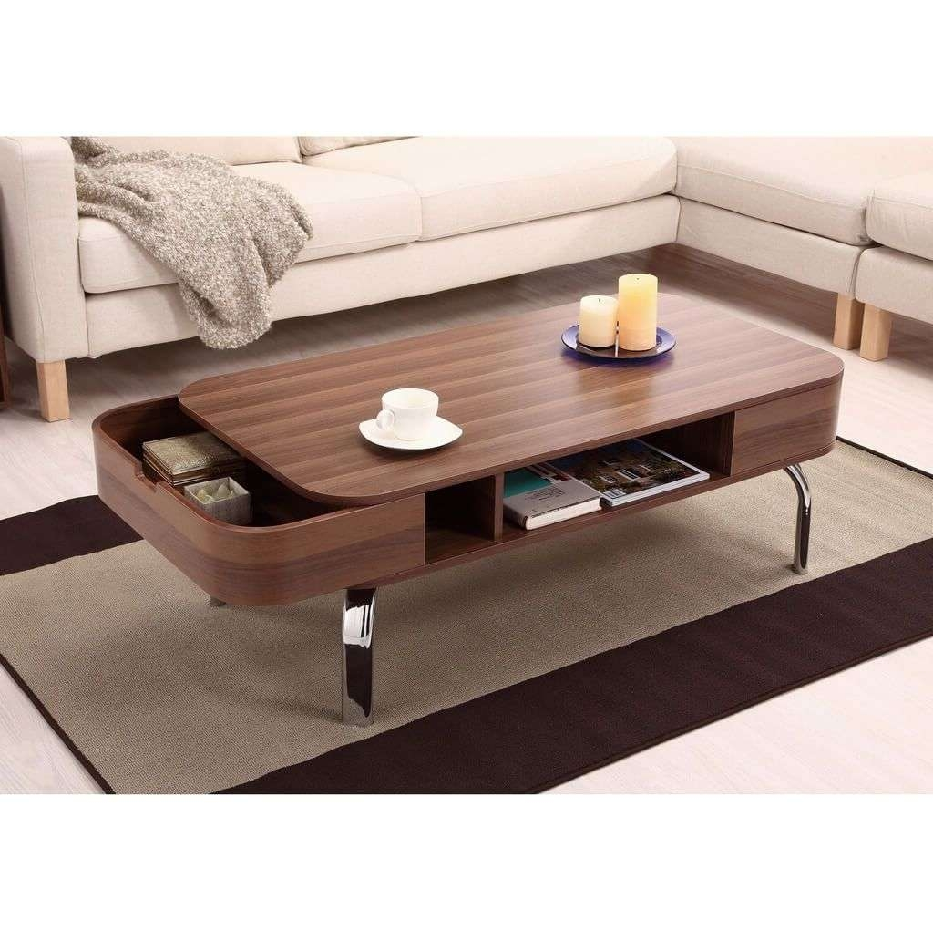 Low Coffee Table With Storage 2018 Latest Low Coffee Table With Storage