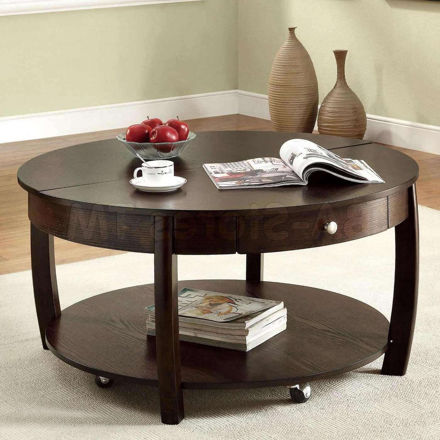 Low Coffee Table With Storage 20 Photos Small Coffee Tables With Shelf