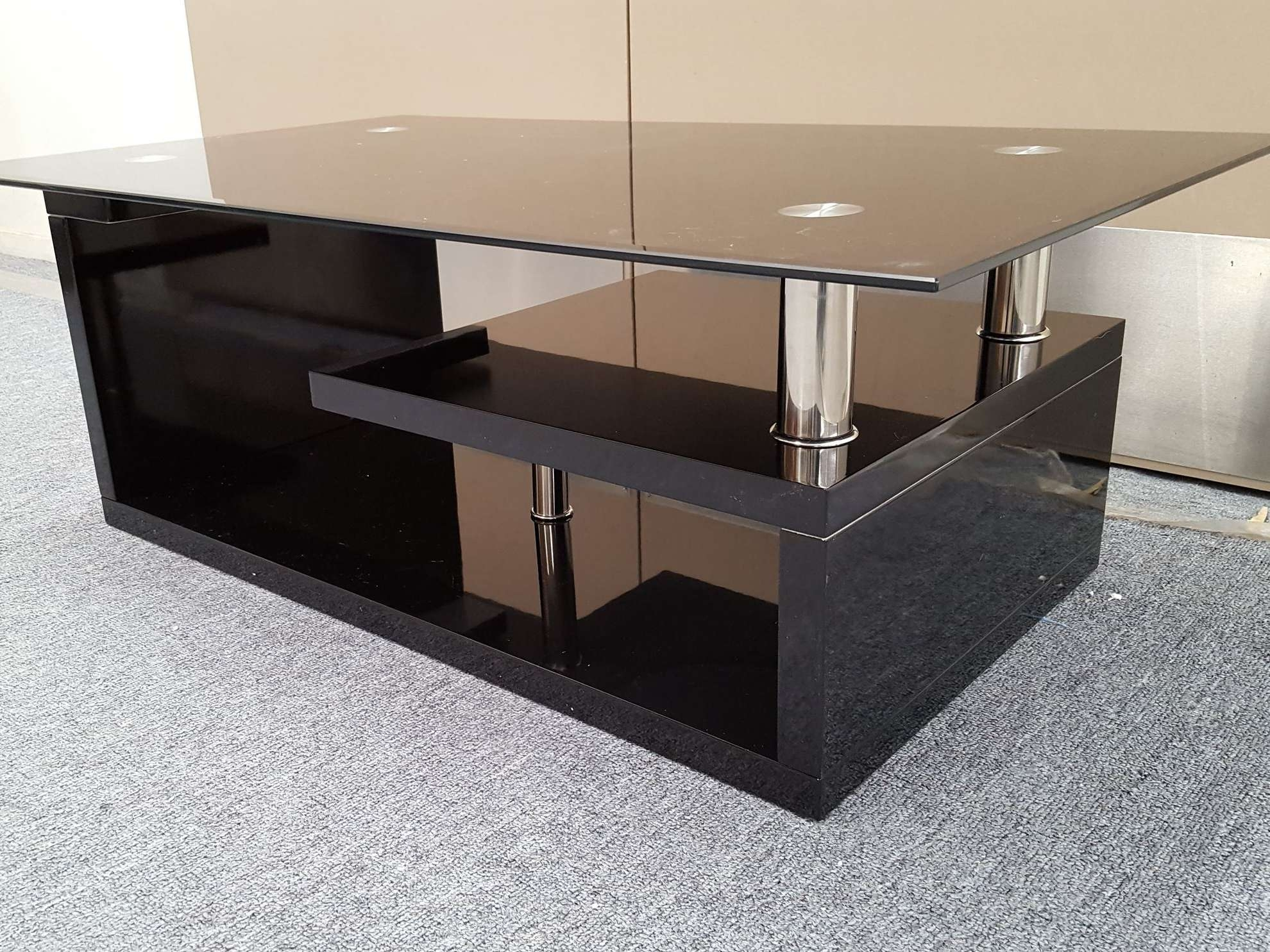 Small Black Coffee Tables Displaying Photos Of Glass And Black Coffee Tables View