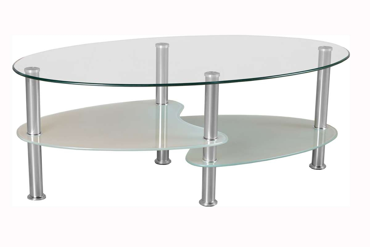 Glass Coffee Table With Gold Legs 20 Best Ideas Of Oval Glass Coffee Tables