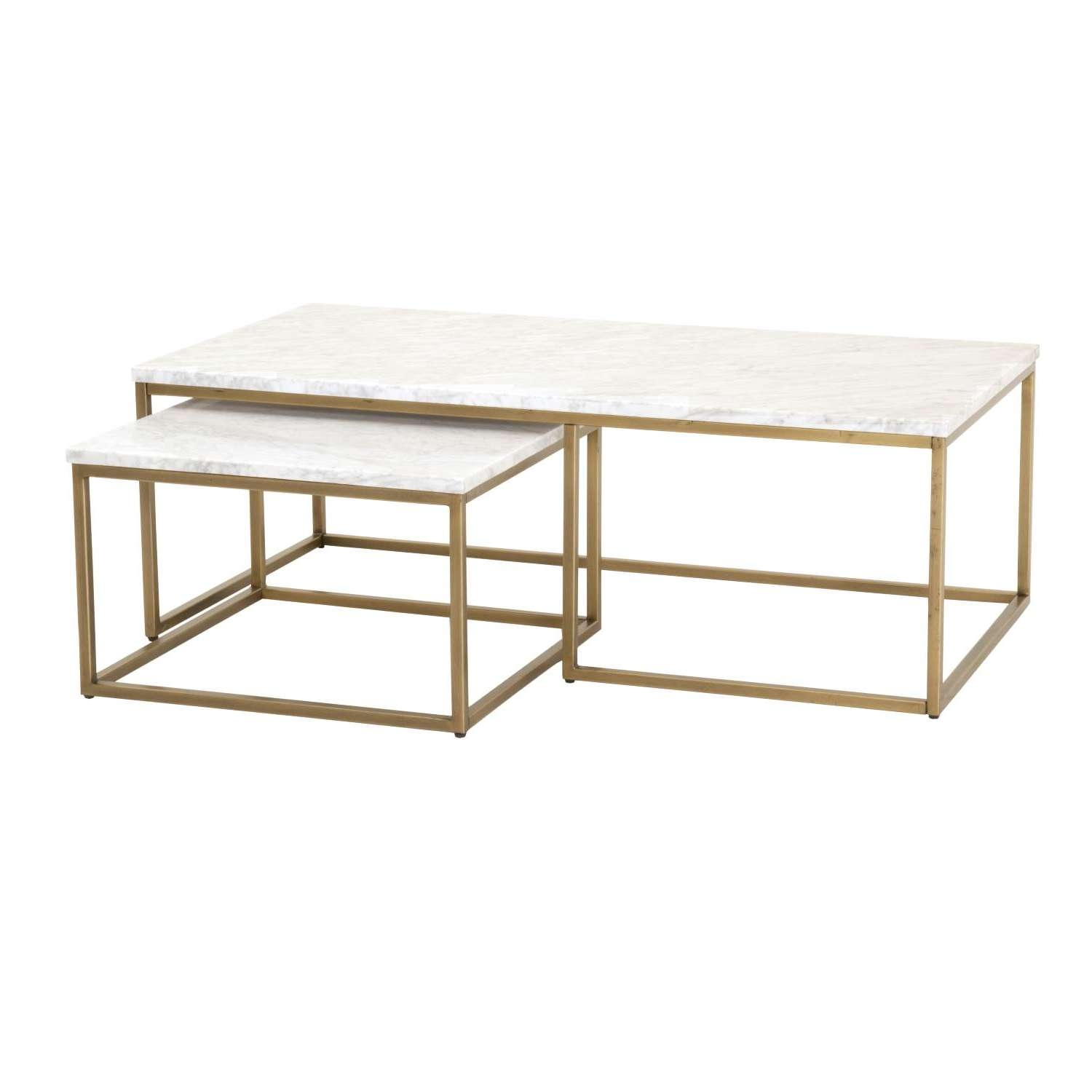 Glass Nest Coffee Tables 20 Best Nest Coffee Tables