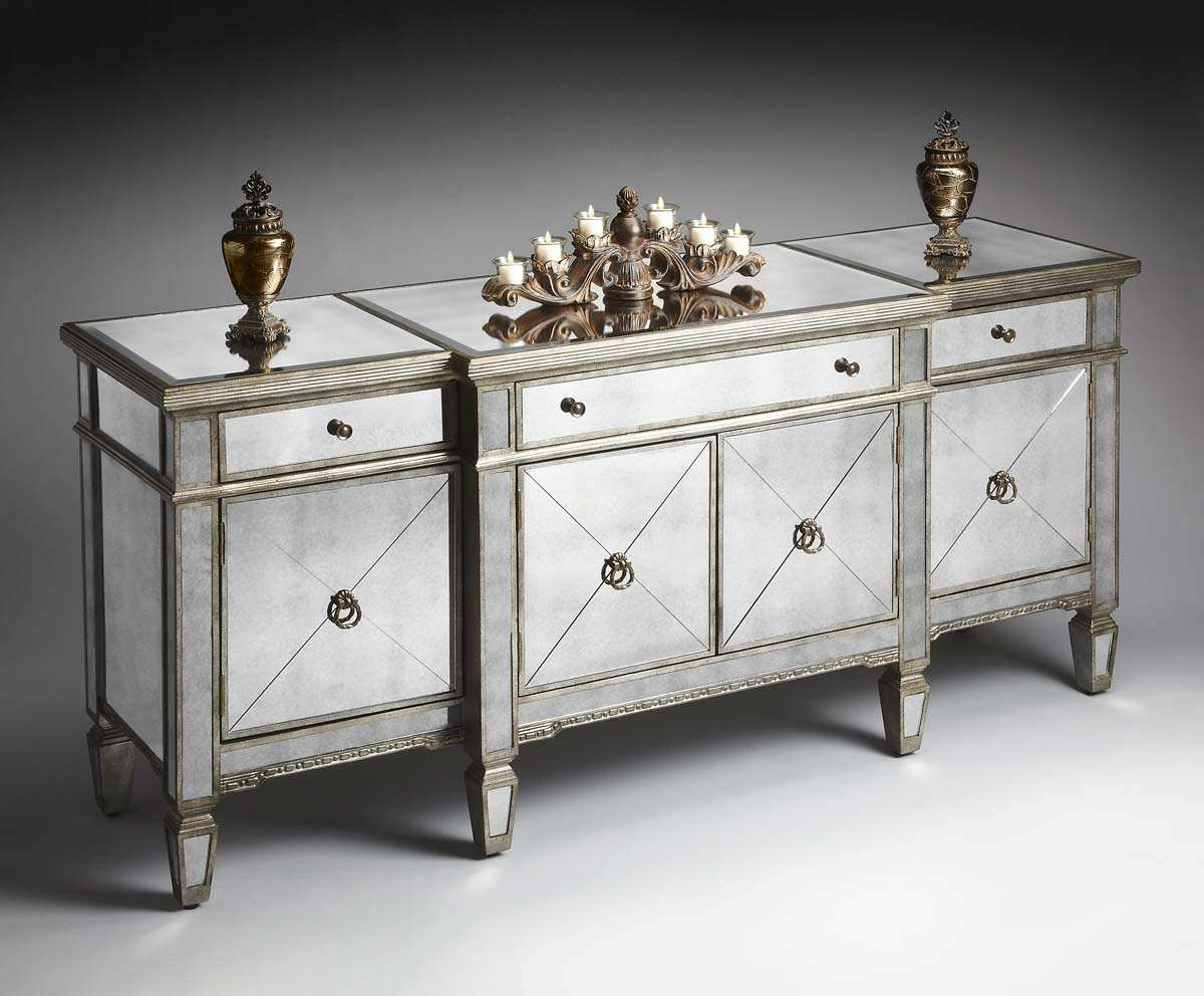 Sideboards And Buffets Top 20 Of Mirrored Sideboards And Buffets
