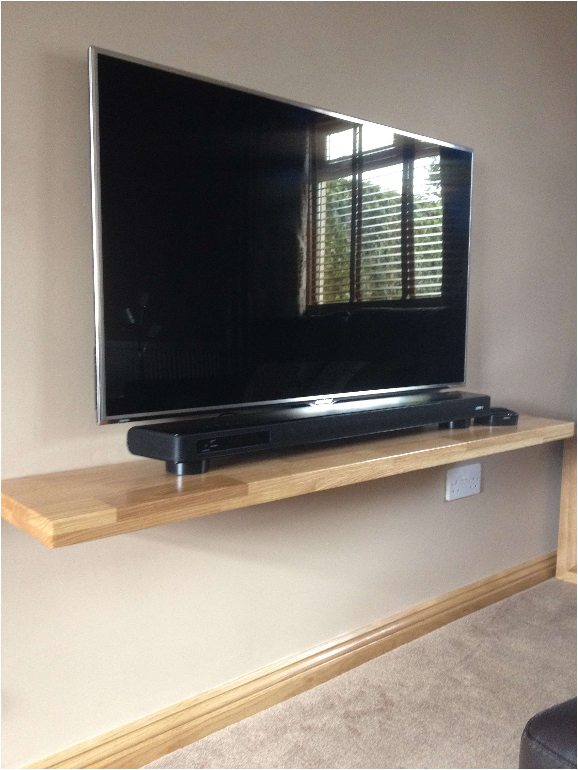Shelves To Go Under Wall Mounted Tv 2018 Latest Under Tv Cabinets