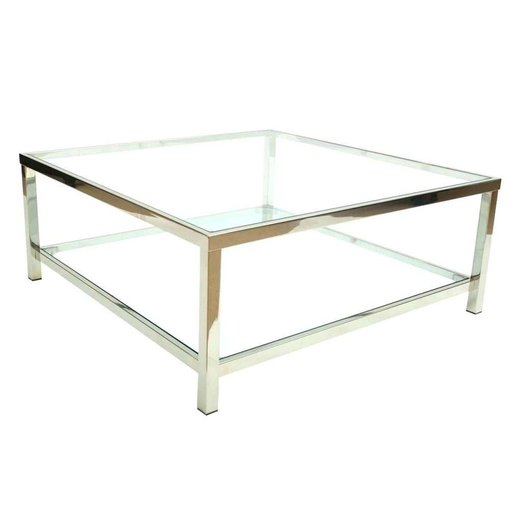 Square Glass End Tables 20 Ideas Of Rectangle Glass Chrome Coffee Tables