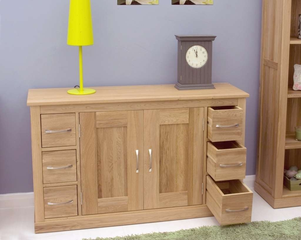 view photos of slim oak sideboards showing 4 of 20 photos