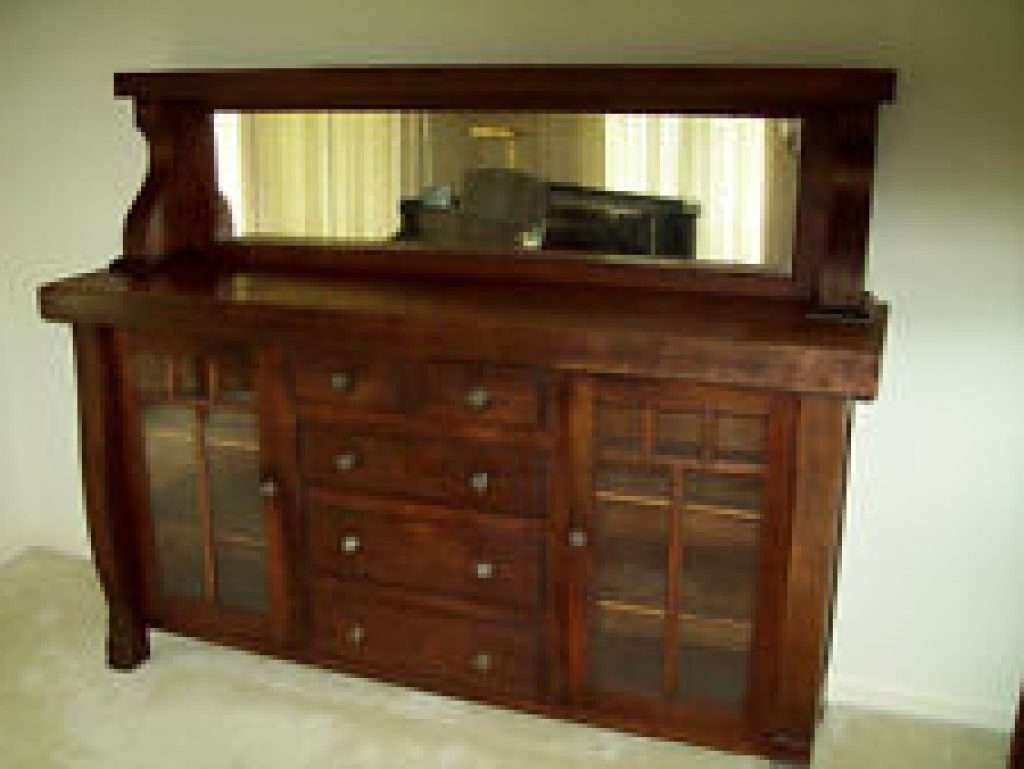 Vintage Oak Sideboard With Mirror 20 Best Ideas Of Antique Sideboards With Mirror