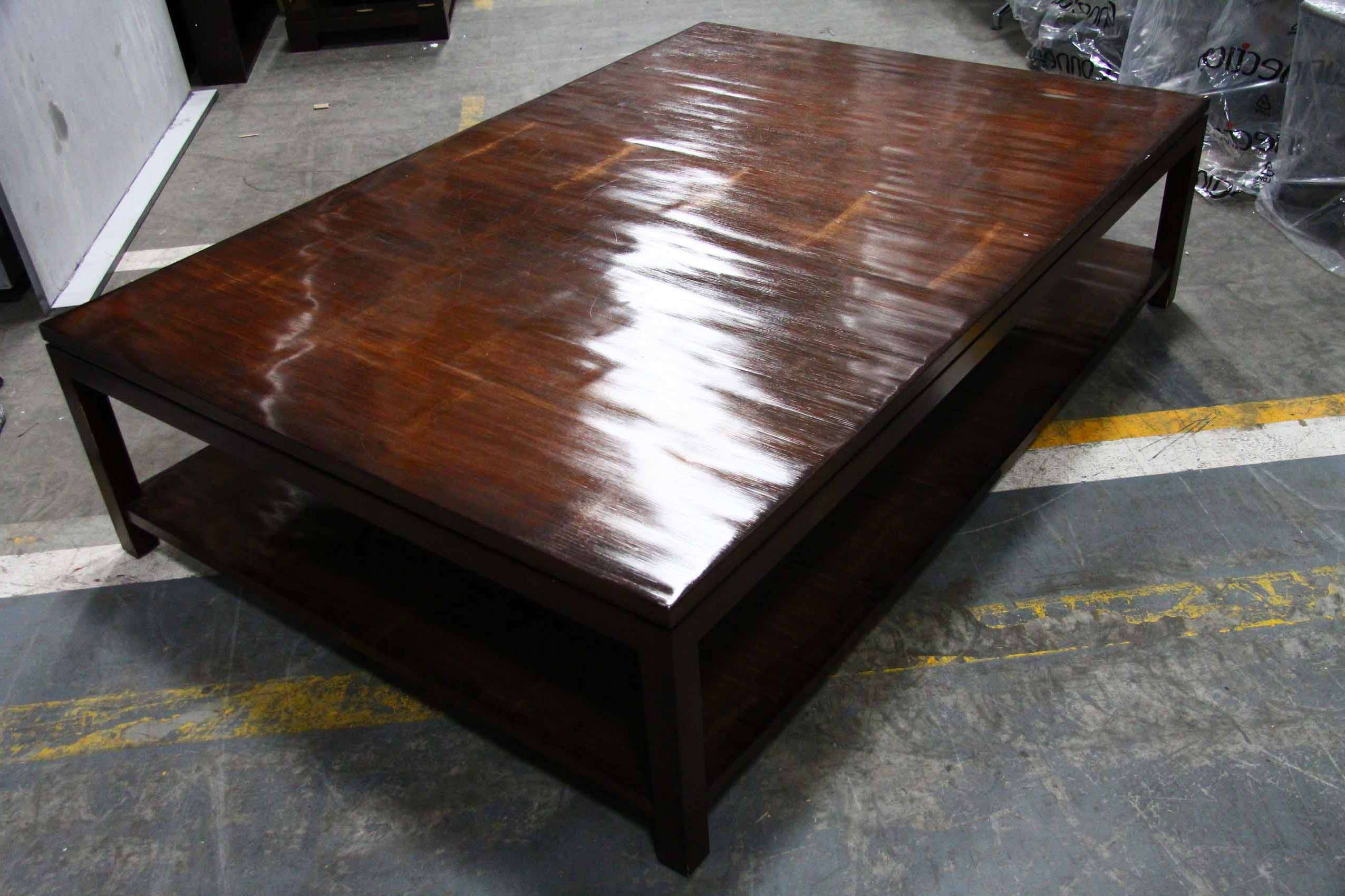 Dark Wood And White Coffee Table 20 Collection Of Dark Wood Square Coffee Tables
