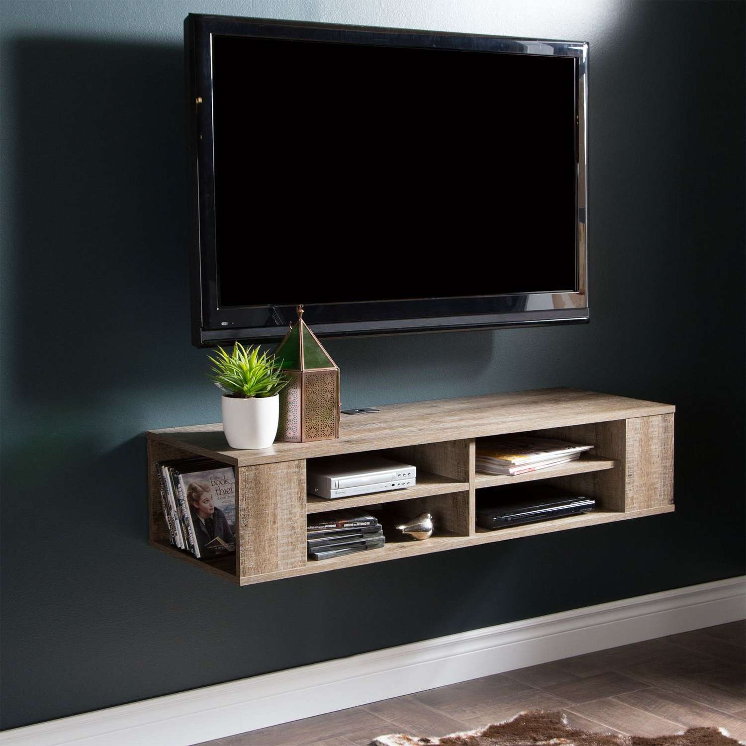 Hanging Media Console 20 Best Ideas Of Floating Tv Cabinets