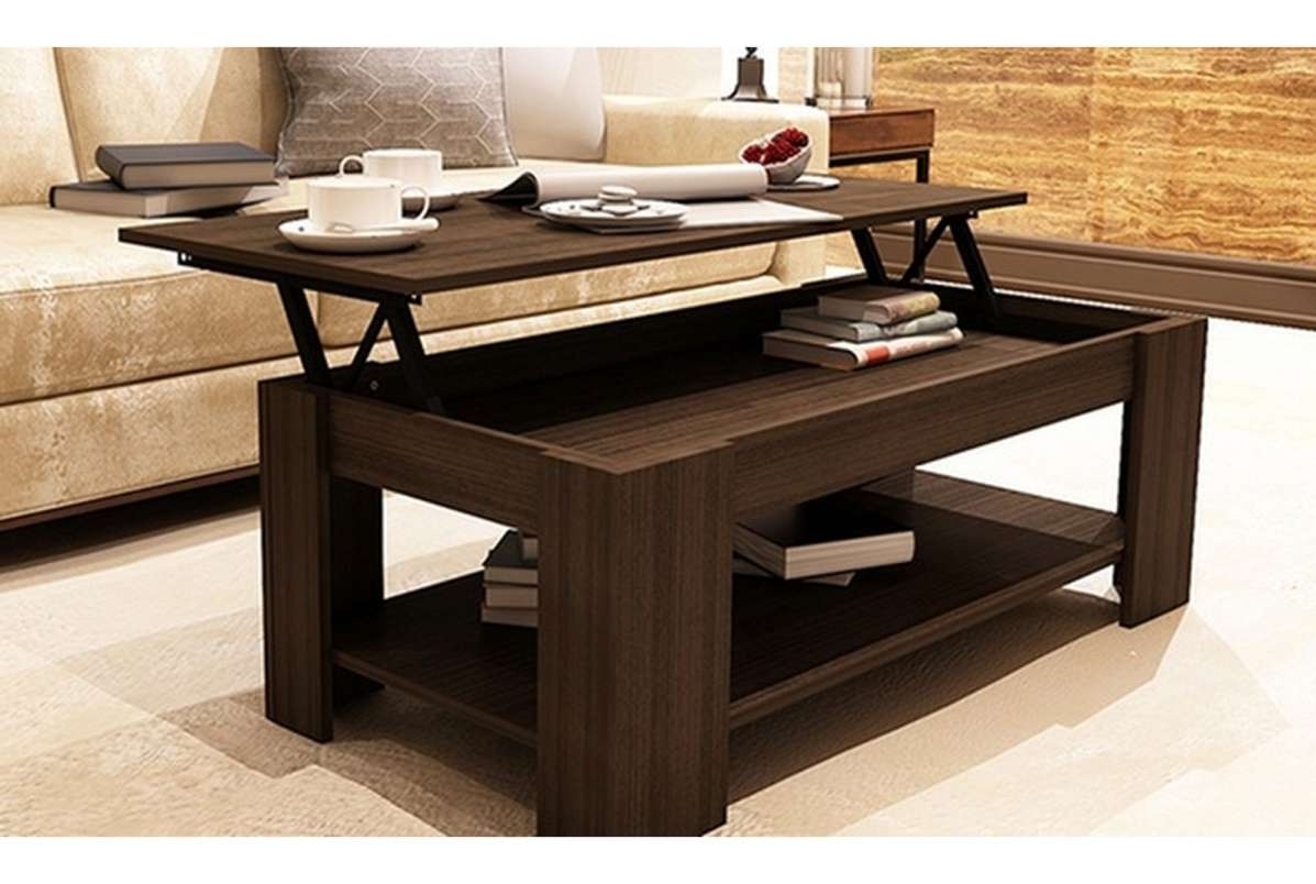 Raise Up Coffee Table 2018 Latest Waverly Lift Top Coffee Tables