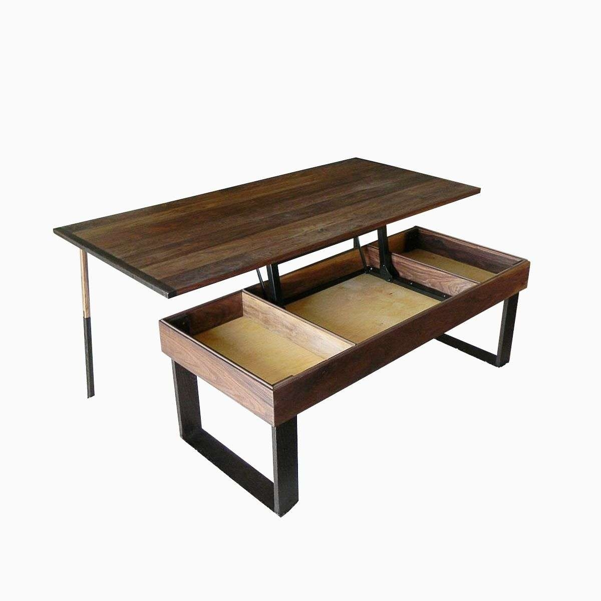 Raise Up Coffee Table 2018 Popular Lift Up Coffee Tables