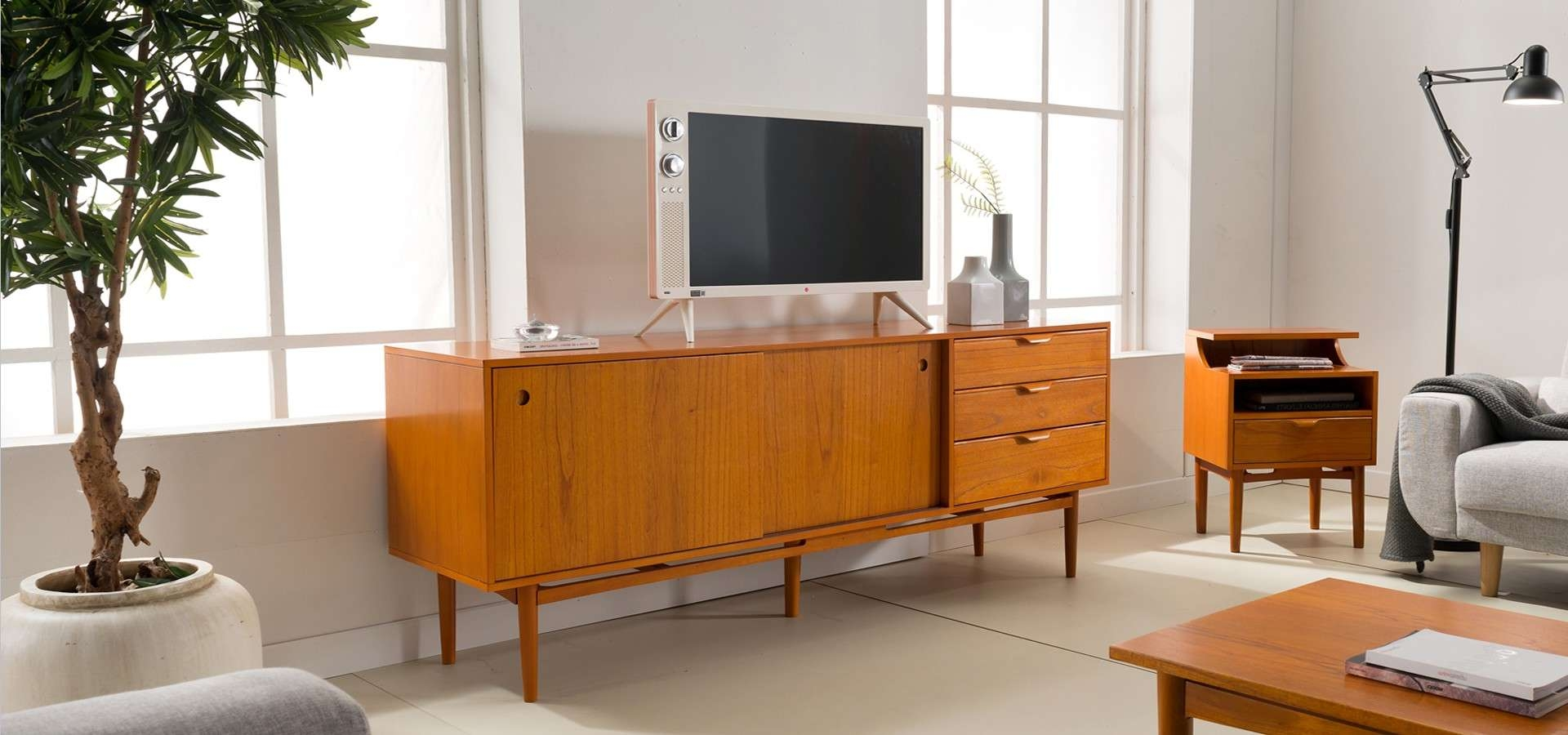 Tv Sideboard Vintage 20 Best Collection Of Danish Retro Sideboards
