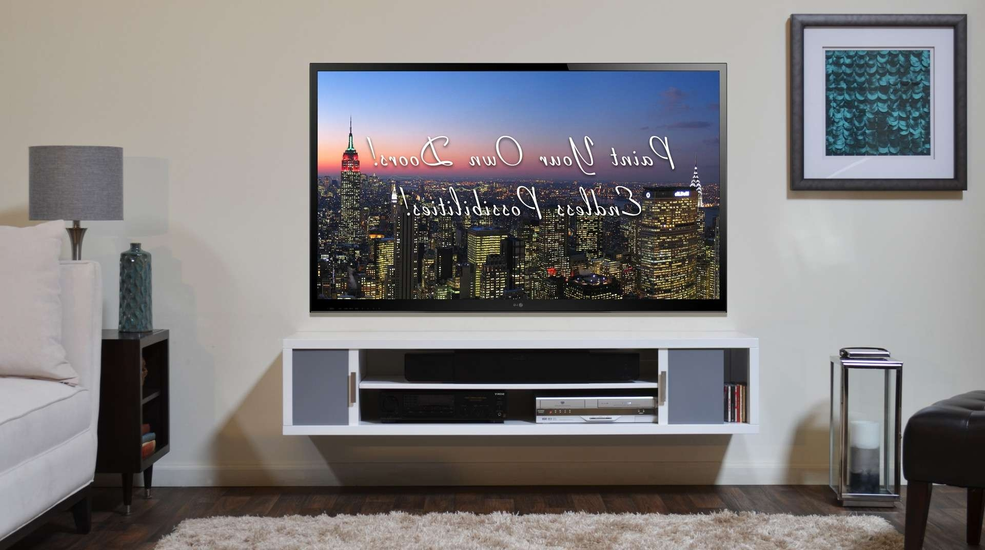 Tv Wall Cabinets For Flat Screens 20 Photos Wall Mounted Tv Cabinets For Flat Screens