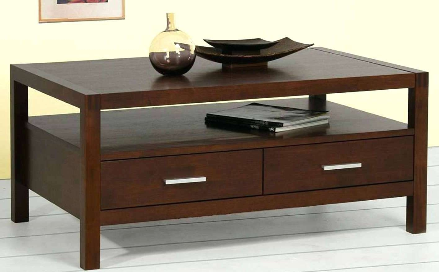 Low Coffee Table With Storage Large Coffee Table With Drawers Buethe Org