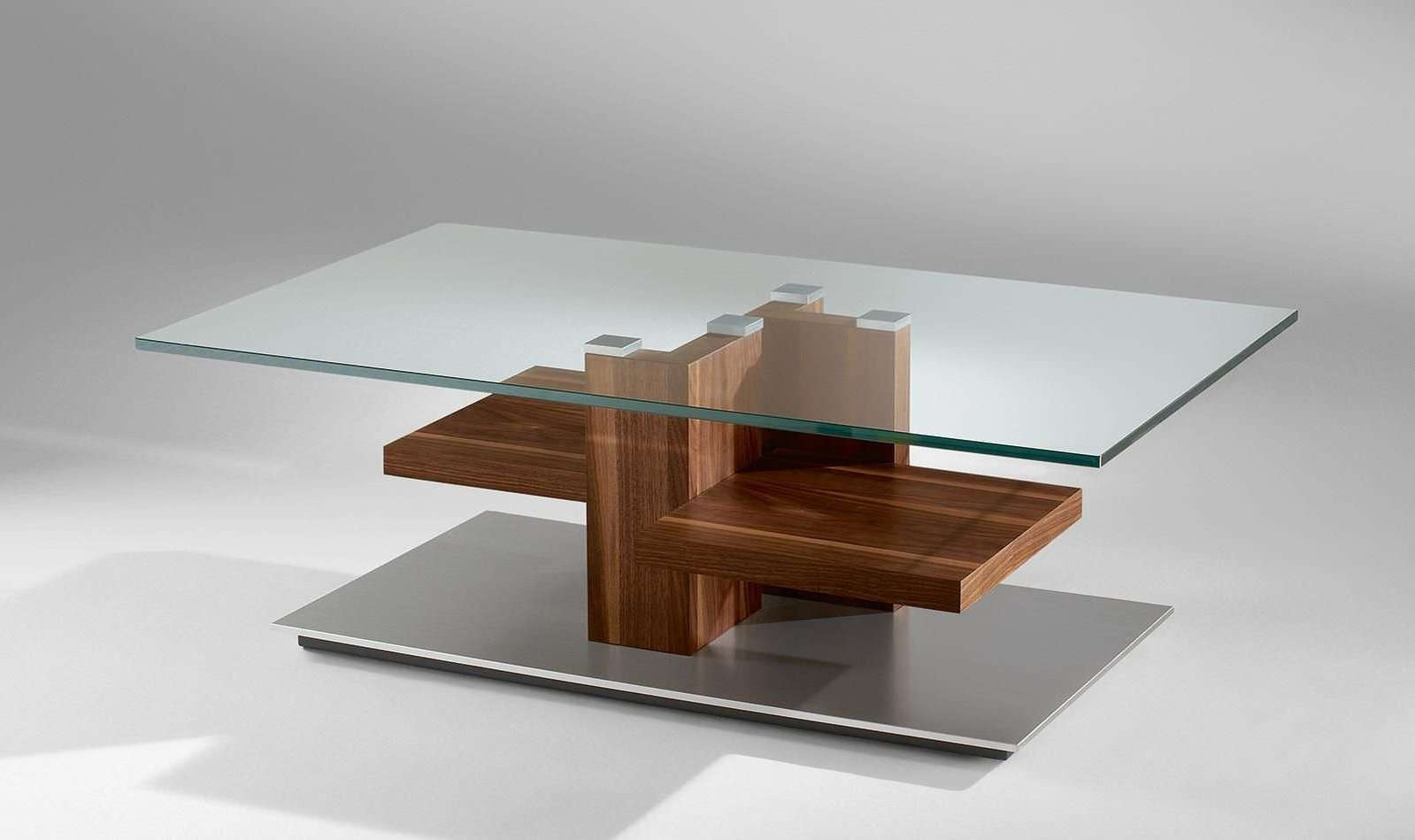 Wooden Coffee Table With Glass Top 23 Best Ideas Of Dark Wood Coffee Tables With Glass Top