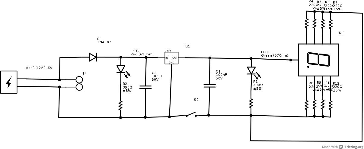 j1 schema cablage