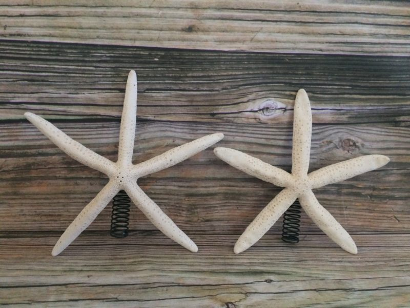 Finger Starfish Christmas Tree Topper Sea 2 Land Designs