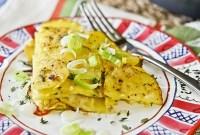 Summer Squash, Potato & Herb Torte