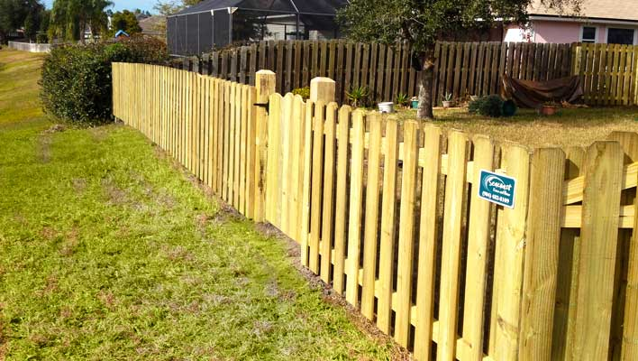 wood fences contractor jacksonville st augustine fl