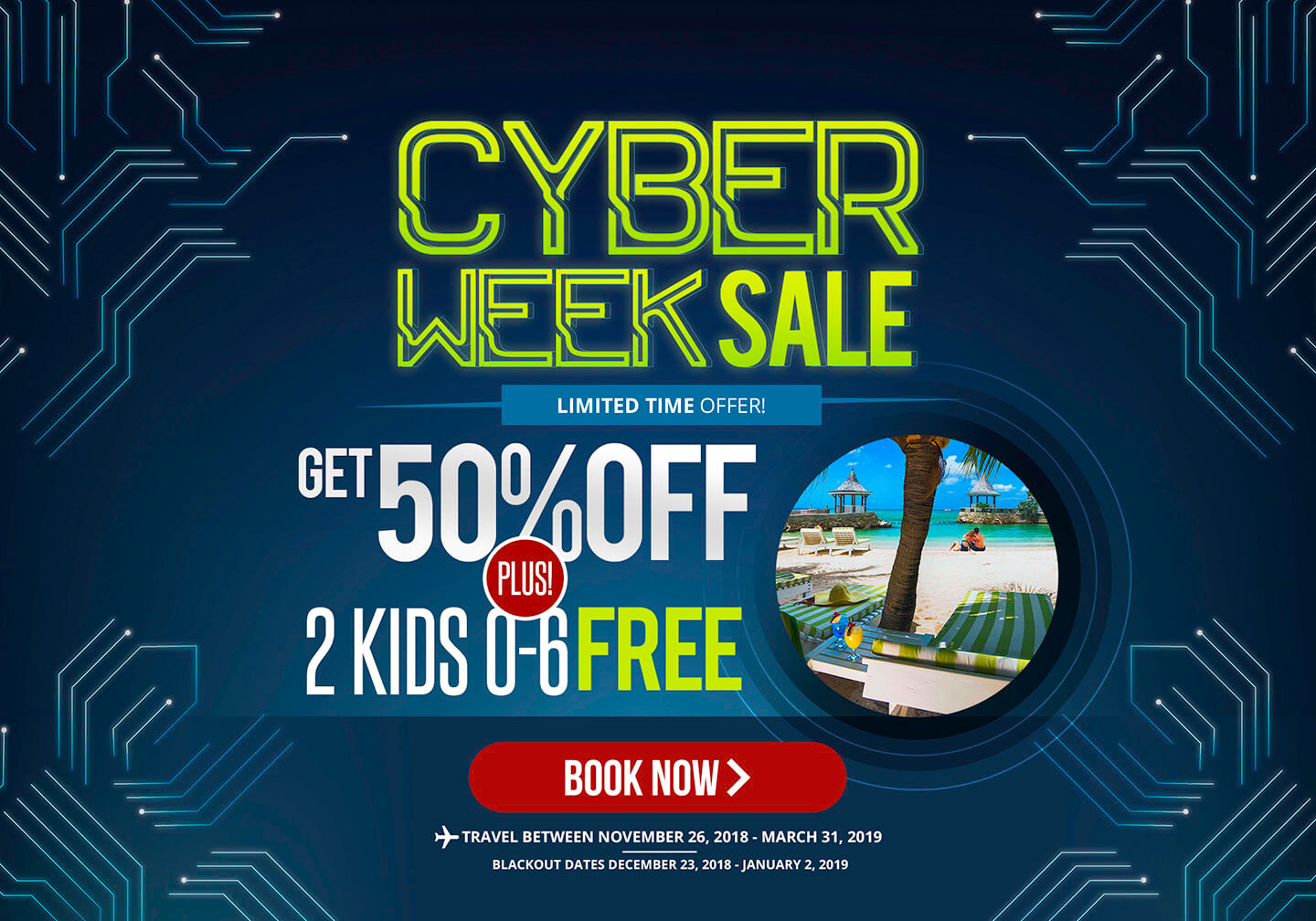 Black Week Sale Black Friday Sale Seagarden Beach Resort