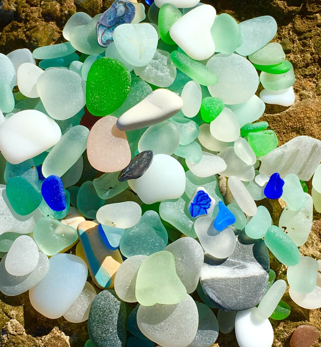 Glasbild Meer How We Make Our Sea Glass Jewelry
