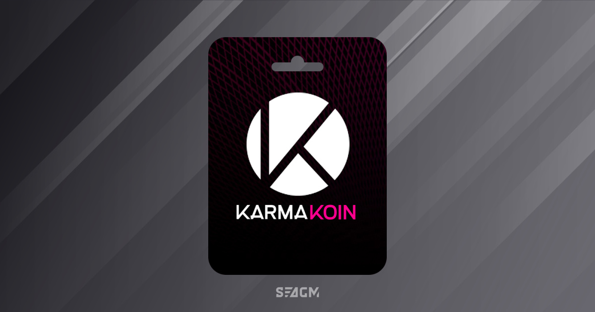 Karma Koin - Buy Karma Koin Online Instant Delivery SEA Gamer Mall
