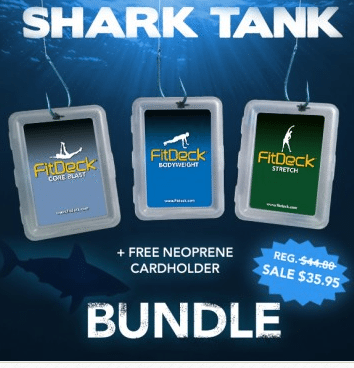 fitdeck shark tank offer