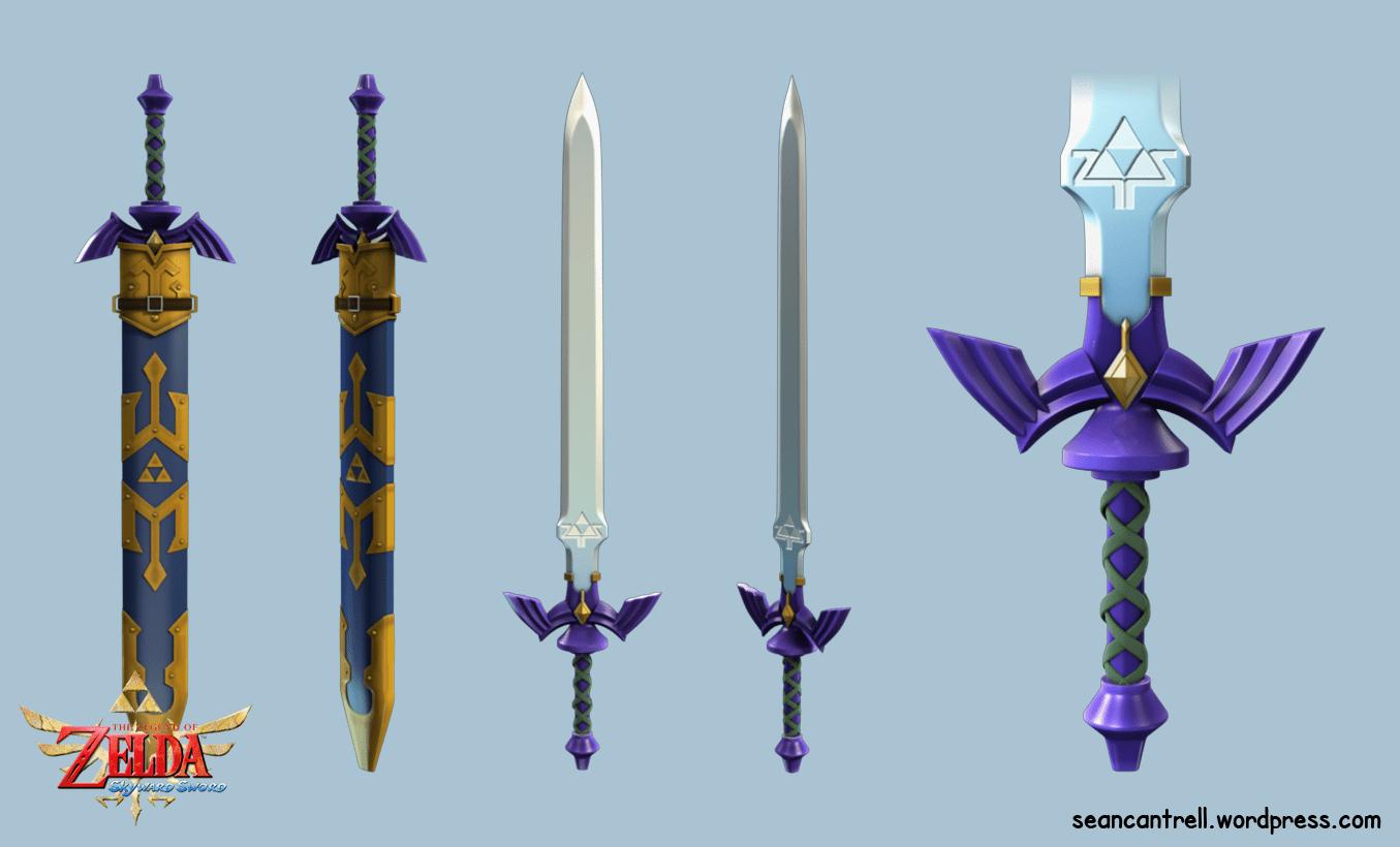 Claymore Wallpaper Hd The Legend Of Zelda Skyward Sword True Master Sword