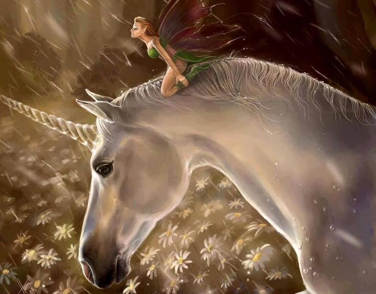 Fall Woodland Creatures Wallpaper Unicorns And Fairies Sean Heritage