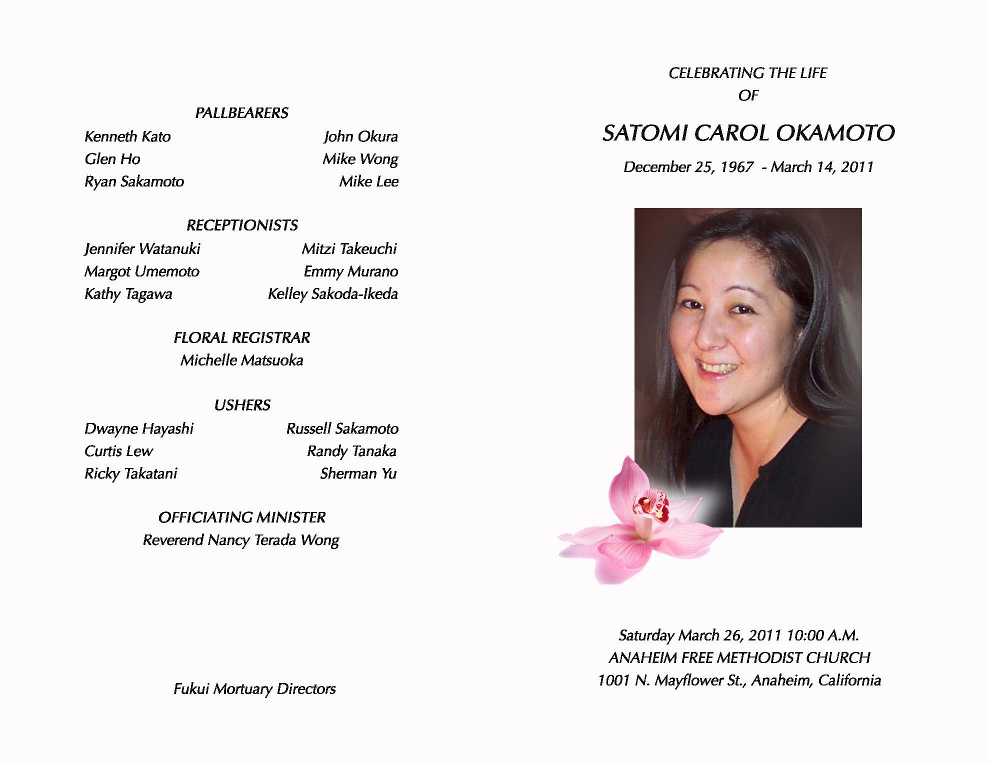 memorial service program examples anuvratinfo – Funeral Service Program Template Word