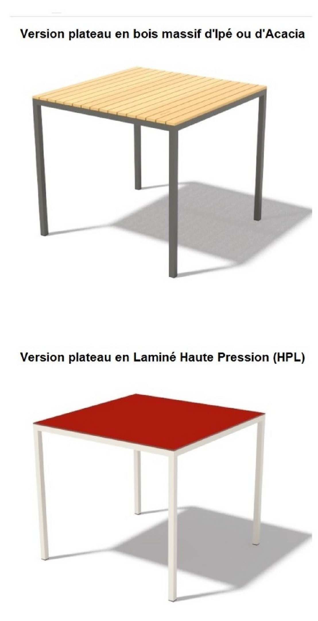 Table Jardin Metal Couleur | Beautiful Table De Jardin En Metal De ...