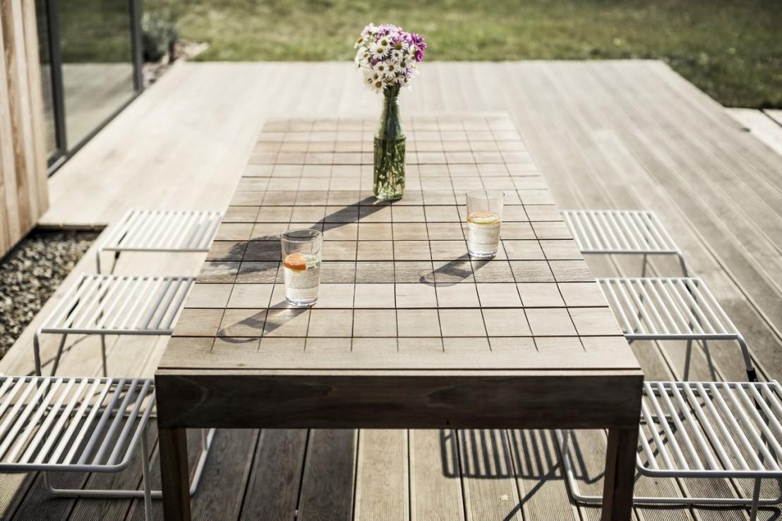 Grande Table De Jardin | Grande Table De Salon Impressionnante Table ...