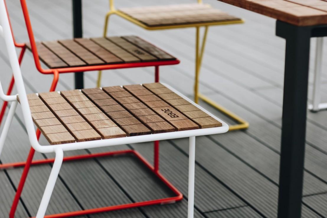 Chaise Salon De Jardin Acier