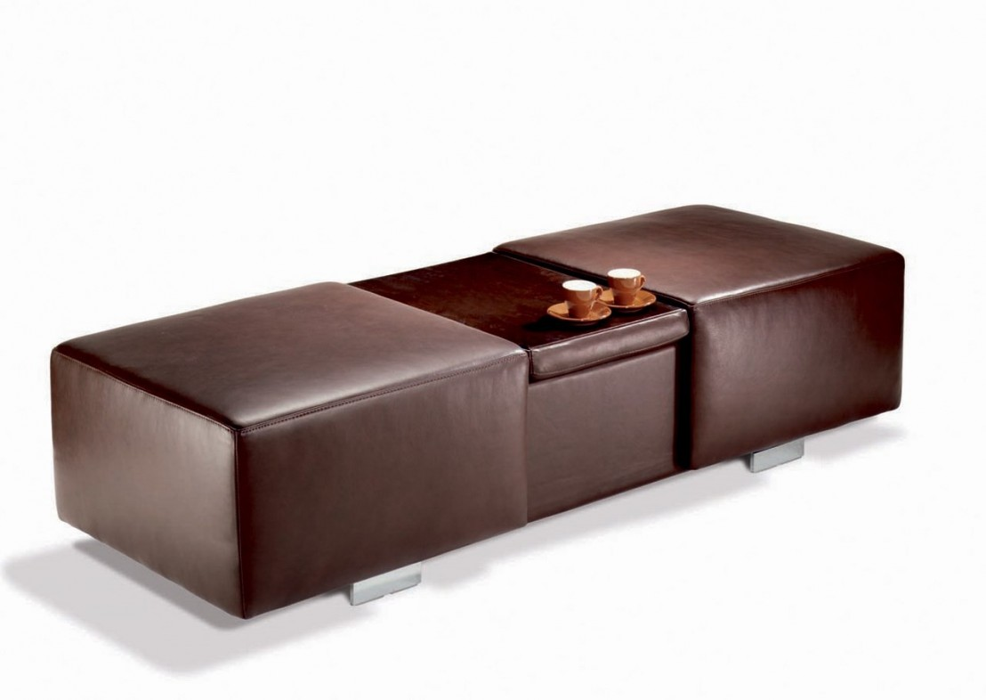 Grand Pouf Grand Pouf Coffre And Bar Rectangulaire Longrun
