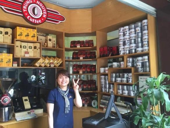 ベトナム5 ハノイ チュングエン・コーヒー