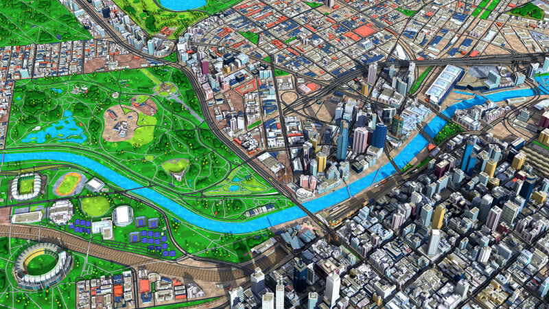 Recce\u0027s Cool Animated 3D Maps Now Available Via SDK - Search Engine Land