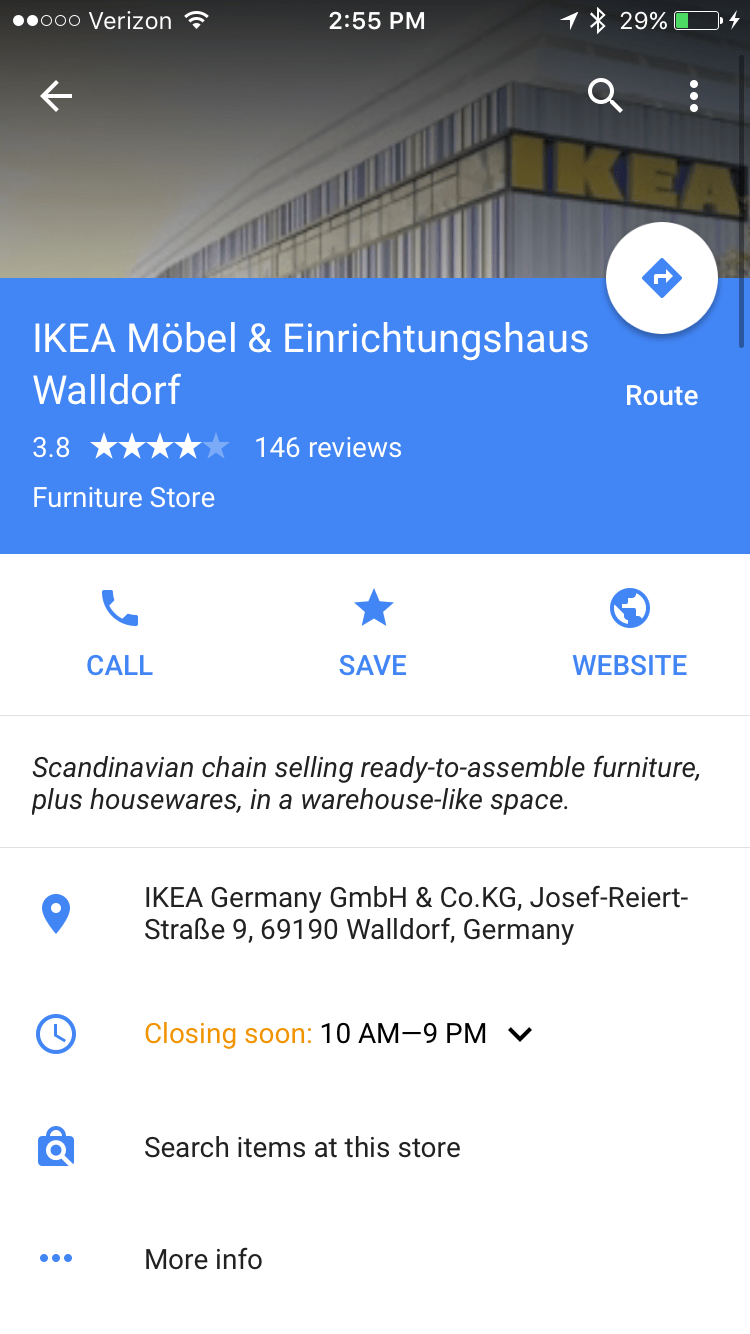 Möbel Ad Google Expansion Of Local Inventory Ad Product Search Now Live In