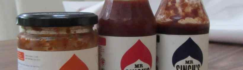 Mr singhs sauces