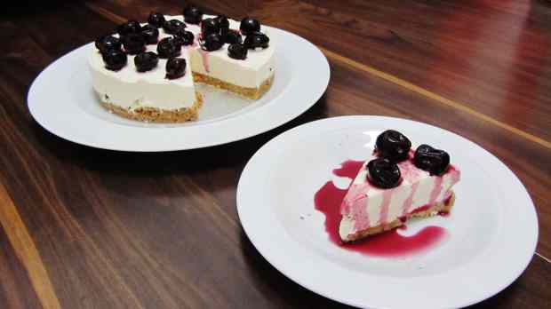 Black Cherry Cheesecake