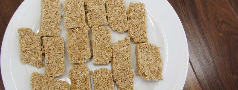 peanut butter and coconut bars