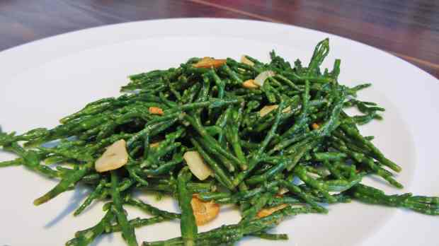 Buttery Samphire with Garlic and Lemon
