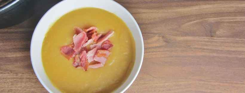 Sweet potato parsnip and potato soup 3