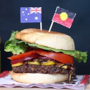 vegemite burger