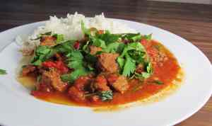 hungarian beef goulash #CookOnceEatTwice