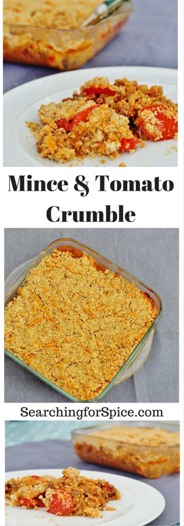 Mince and Tomato Crumble - Searching for Spice