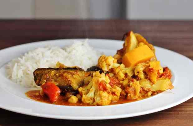 Veggie Gurkha Curry Jamie Oliver